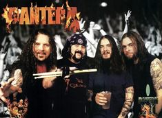 Pantera was the first band to inspire me to move on to the music career Pantera Band, Heavy Metal Music, Heavy Metal Bands, Kinds Of Music, My Music, Hard Rock, Vinnie Paul, Legend Music, Dimebag Darrell