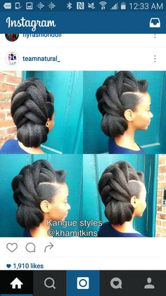 Natural Hair Care Tips That Will Show Your Beauty From Any Angle Cabello Afro Natural, Pelo Natural, Natural Hair Updo, Natural Hair Care, Natural Hair Styles, Natural Shampoo, Natural Makeup, Nail Design Stiletto, Marley Hair
