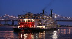 The American Queen cruises the Mississippi again, from New Orleans to Memphis. Activities on the ship incude talks about steamboat history or 19th-century dueling, a performance by a Mark Twain imitator, and evening piano-bar sessions. Via NYTimes.com