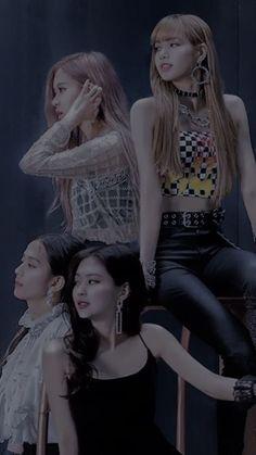 Kpop Girl Groups, Korean Girl Groups, Kpop Girls, Kim Jennie, Lisa Park, Blackpink Poster, Lisa Blackpink Wallpaper, Blackpink Video, Kim Jisoo