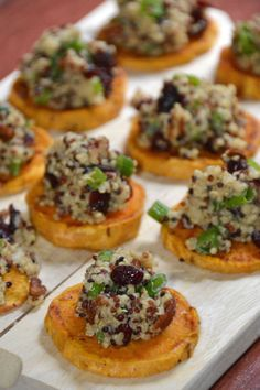 Quinoa Sweet Potato Rounds - Pumps & Iron