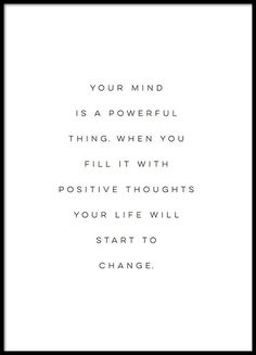 Your Mind Is a Powerful Thing, Print