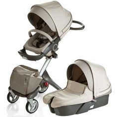 Stokke XPLORY Newborn Stroller in Beige