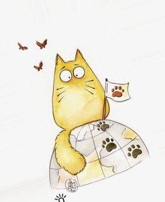 смешные коты картинки нарисованные: 19 тыс изображений найдено в Яндекс.Картинках