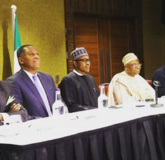 Ele & Elis Blog: Buhari had a meeting with some Nigerians in London...