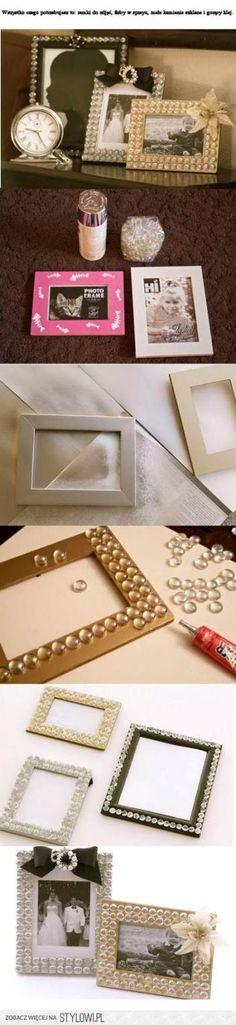 20 Creative DIY Picture Frame Ideas