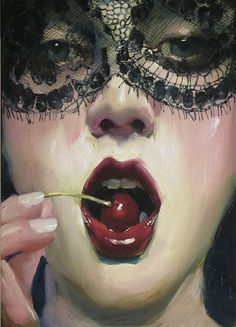 Malcolm Liepke, The Red Cherry, 2013