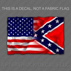 American / Rebel Flag