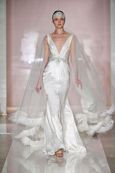 Reem Acra Fall 2014 Bridal Collection. www.theweddingnotebook.com