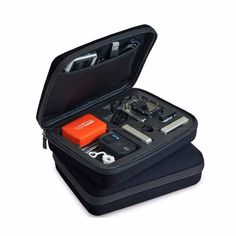 For GoPro Hero1 2 3 3 4 SJ4000 Action Cam Camera New Small Travel Carry Case Bag | eBay