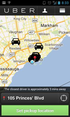 Uber App Review: Location-Based Private Driver / Taxi Service