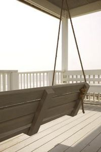How to Make a Front Porch Swinging Bench