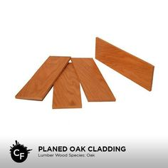 Planed Oak Cladding by ChicagoFabrications