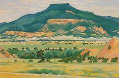 "My Front Yard, Summer, by Georgia O'Keeffe, 1941. Oil on canvas, 20 x 30"" | © Georgia O'Keeffe Museum"