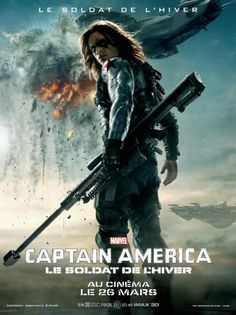 Une nouvelle affiche pour Captain America The Winter Soldier #captainAmerica #movie