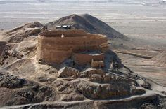 Dakhme(Tower of Silence)-Yazd Iran