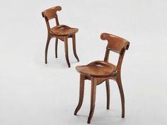 Solid wood chair Battló Collection by BD Barcelona Design   design Antoni Gaudí