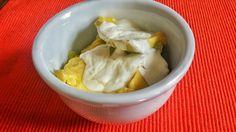 Abacate com creme de leite fresco
