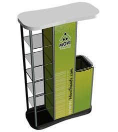 Stand exhibidor y counter Trippo ML - MoviStands