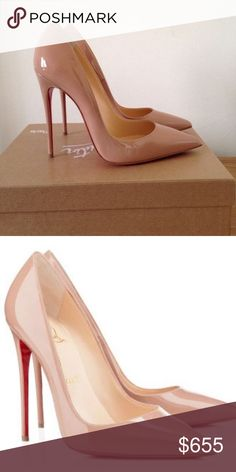 Christian Louboutin Nude So Kate UK 37 never worn Christian Louboutin Nude So Kate UK 37 never worn with box and dust bag. Open to trade for nude Pigalles! Christian Louboutin Shoes Heels