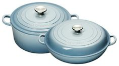 Costal blue by Le Creuset