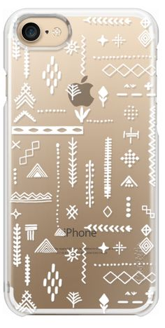 Casetify iPhone 7 Snap Case - Berber motives inspired by Sylvia Takken