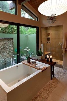 Mid century modern ranch house interiors incredibly modern mid century bathroom interior designs interior design home Dream Bathrooms, Beautiful Bathrooms, Modern Bathrooms, Master Bathrooms, Luxury Bathrooms, Outdoor Bathrooms, Romantic Bathrooms, Master Bedroom, White Bathrooms