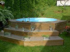 pool för mindre trädgård - Sök på Google