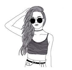 #Drawing #girl #pinterest