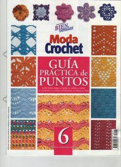 Moda Crochet Guia practica de puntos №6.