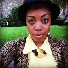 Haven't worn this dress since college graduation.  Hat gift 4rm Toki. - @suzianalog- #webstagram