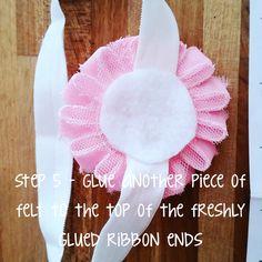 How To: DIY Baby Headband #babyheadband #DIYbabyheadband Diy Baby Headbands, Maternity Sash, Diy Baby Gifts, Diy Hairstyles, Fabric Flowers, Hair Bows, Birthdays, Ribbon, Baby Shower