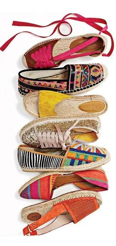 Love all except the yellow!! I can't stand shoes with no back