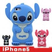 Hot 3D iPhone 5 Case Soft Silicone Back Cover for iPhone 5