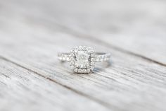 Cushion cut engagement rings will never go out of style.