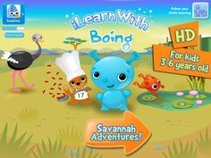 learn key math skills such as counting, ordering numbers and adding or subtracting while playing with savannah animals