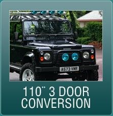Land Rover Refubishment Specialists | Defender 110 3-door conversion | The specialist in refurbishing Land Rovers