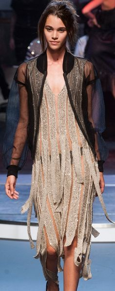Jean Paul Gaultier at PFW Spring 2014