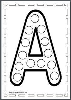 Alphabet Worksheets, Alphabet Activities, Preschool Worksheets, Toddler Learning Activities, Montessori Activities, Teaching Kids, Preschool Writing, Homeschool Kindergarten, Abc Coloring Pages