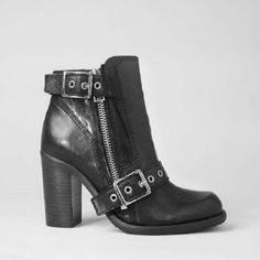 Style your Mayra Jersey Dress with the New Jules Heel Boot available at AllSaints