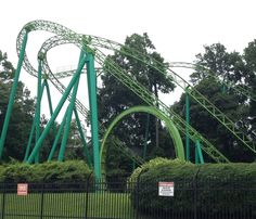 Mind Bender roller coaster at Six Flags Over Georgia