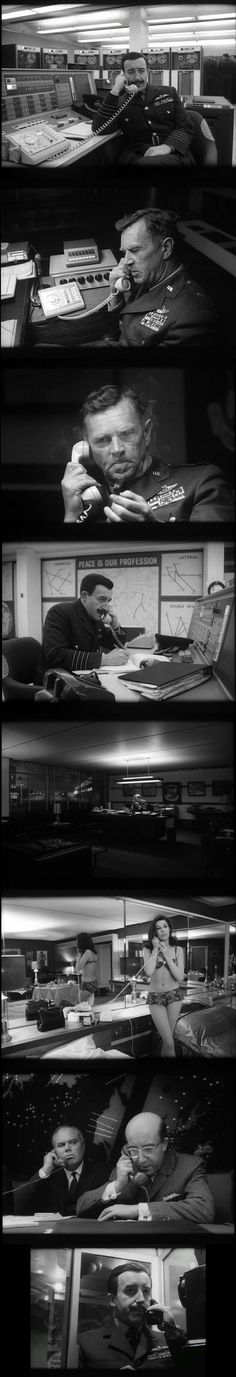 Dr. Strangelove or: How I Learned to Stop Worrying and Love the Bomb(1964). Written and Directed by Stanley Kubrick.