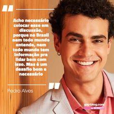#ComingOutDay 🌈 Em 2019, o ator revelou que tanto ele quanto seu personagem são bissexuais e que não é problema nenhum para ele falar sobre o assunto. Representatividade importa! Leia mais em gayblog.com.br