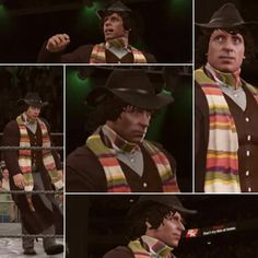 Finally, the Doctor has come back… to WWE 2K17! His scarf is longer than Goldberg's streak!