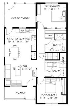 Traditional Level One Of Plan Sqft Small Floor Plans
