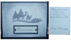 Come To Bethlehem Index Card by galleryindex - Cards and Paper Crafts at Splitcoaststampers