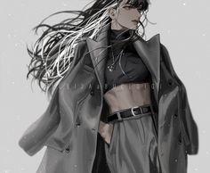 #OmniscientReader'sViewpoint #OmniscientReader #ORV #ORVFanArt Dark Anime Girl, Oc Manga, Manga Anime Girl, Cool Anime Girl, Cool Girl, Digital Art Girl, Character Outfits, Anime Outfits, Pretty Art