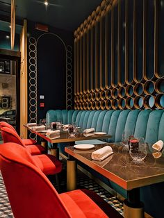 restaurant interieur Glamorous and exciting restaurant interior decorating ideas. Interior Design Minimalist, Bar Interior Design, Restaurant Interior Design, Interior Design Inspiration, Interior Ideas, Inspiration Art, Showroom Design, Interior Styling, Home Decor