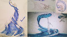 Waterbending Sketchdump by moptop4000 on DeviantArt