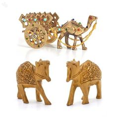 Gemstone Camel Cart